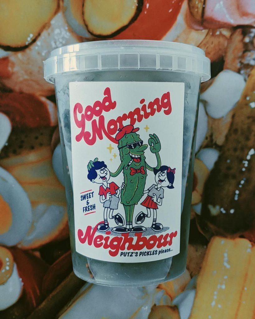 Good Morning Pickles Pot