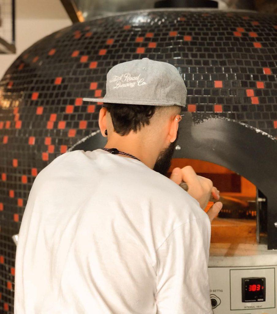 Gordo's Pizzeria fire stone oven