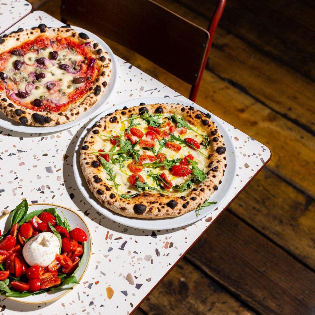 Gordo's Pizzeria Neapolitan-style pizza