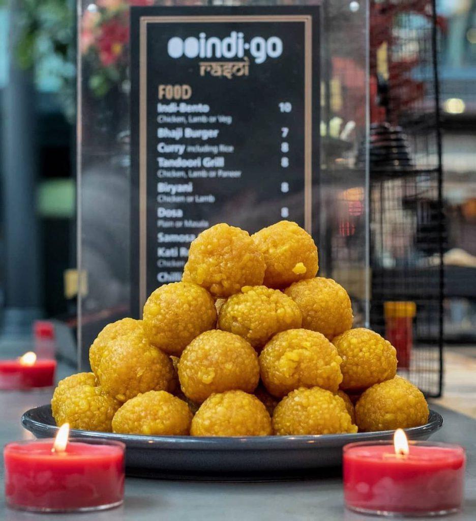Laddoo from Indigo Street Food for Diwali