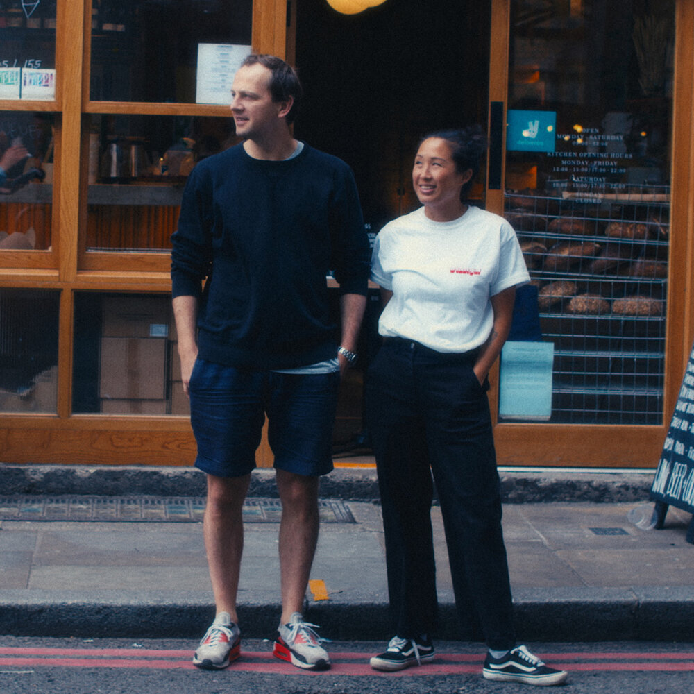 James Lowe and Pamela Yung for Flor London, shot by Service Abnormal