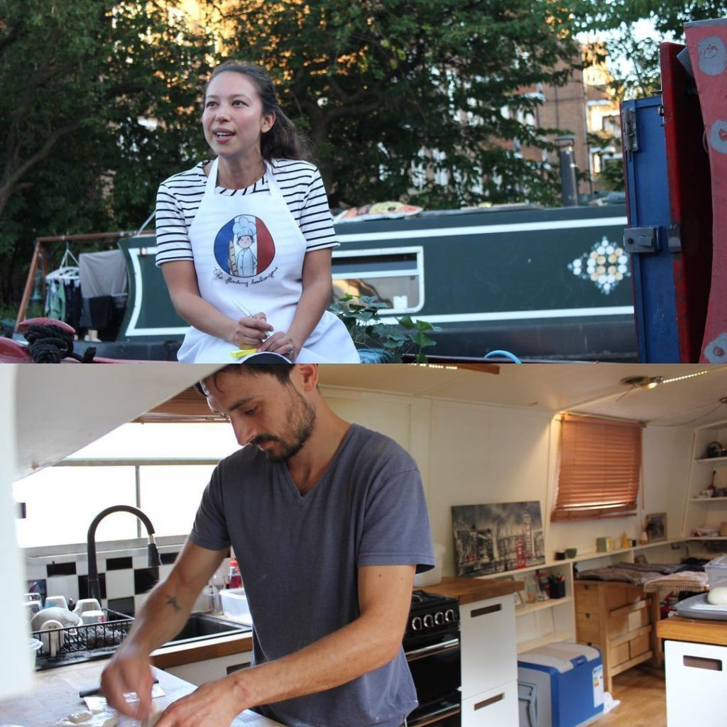 The French couple behind The Floating Boulangerie