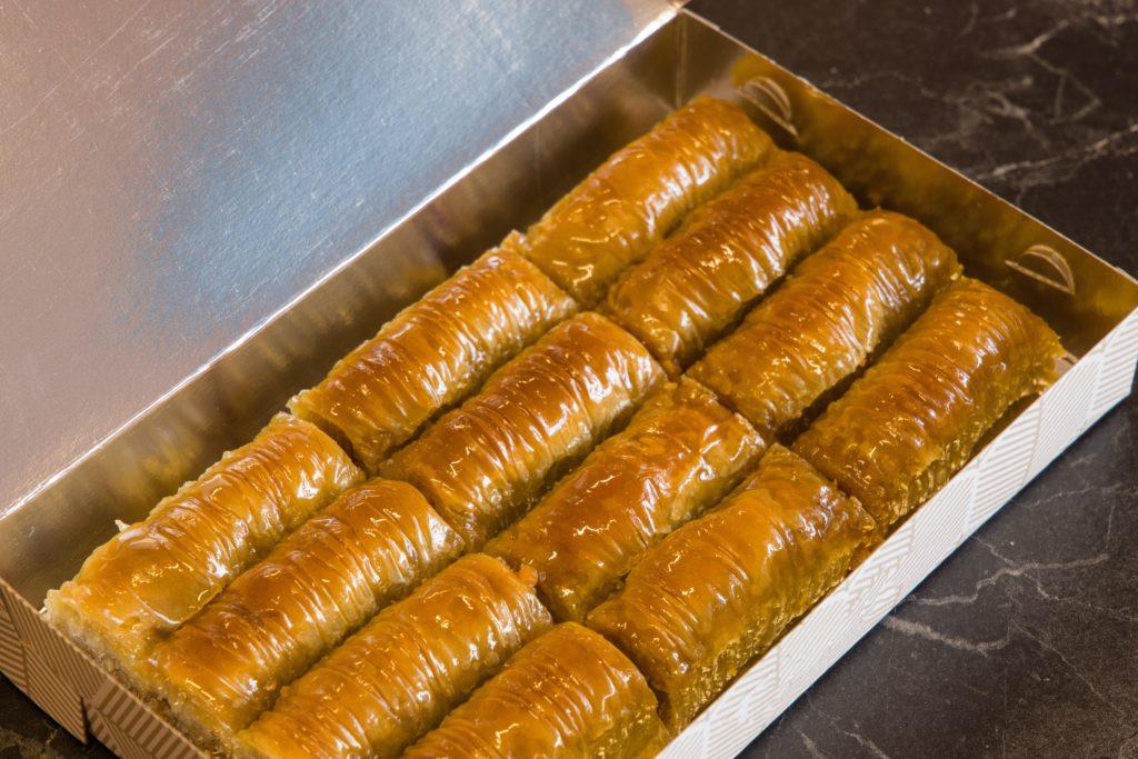 Baklava in a box