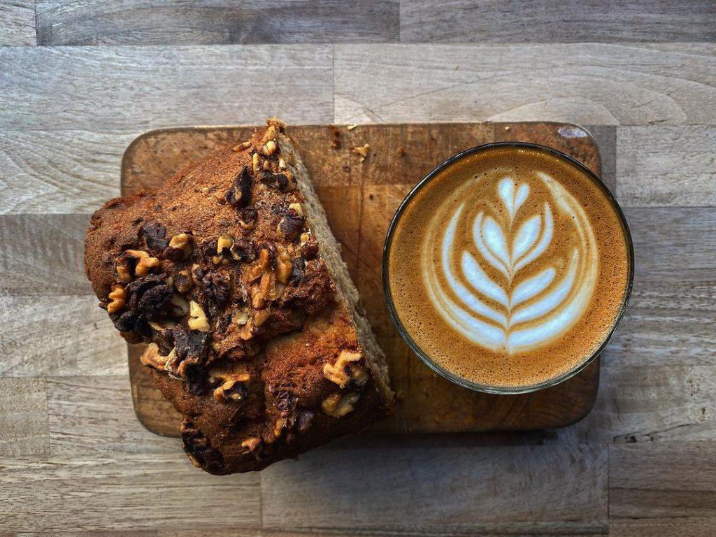 Coffee shop Press Coffee London latte
